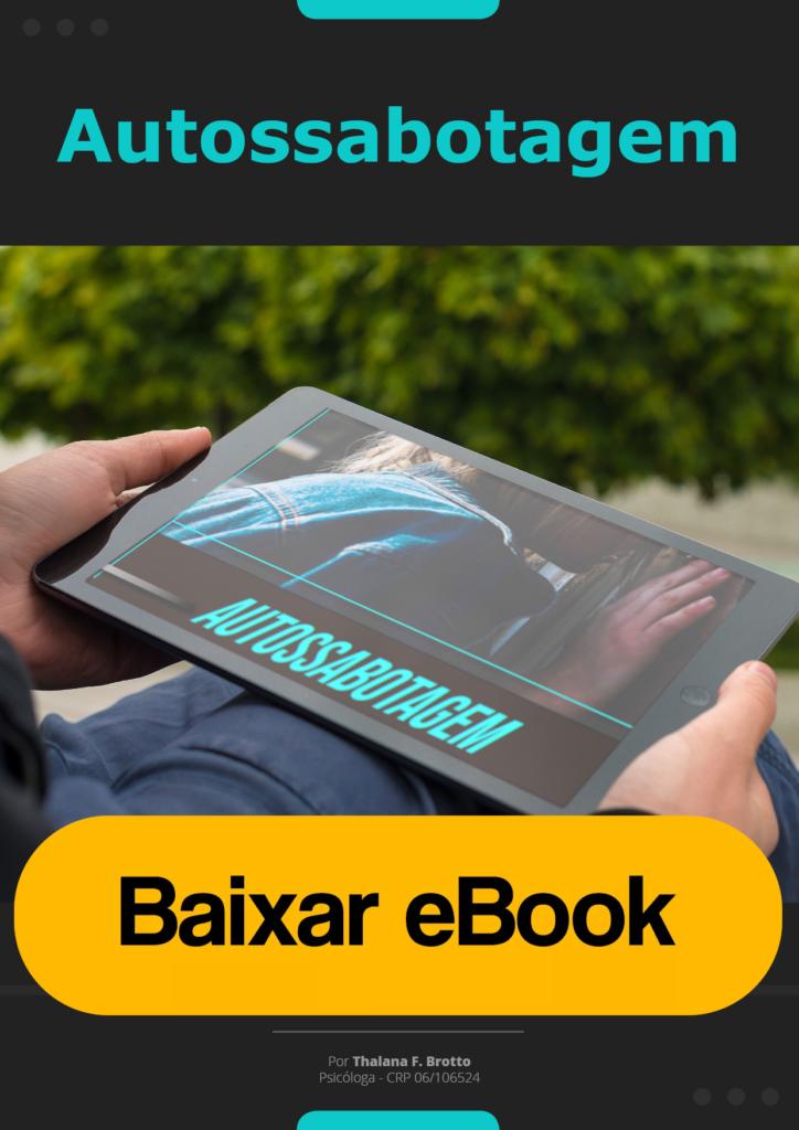 Baixar Ebook Autossabotagem