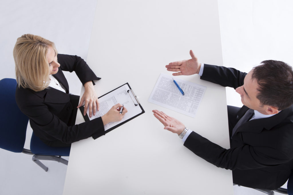 Entrevista de emprego e a psicologia