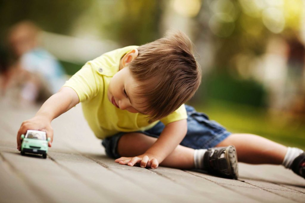 Crianças também precisam ficar sozinhas