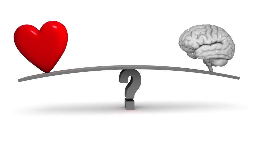Razão x Emoção de acordo com psicólogos